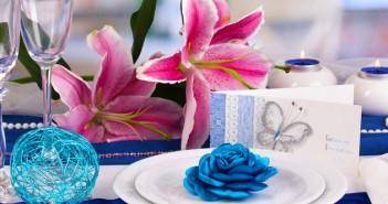 Centros de mesa para una boda en verano