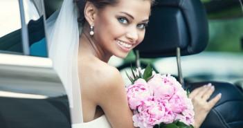 Coches de boda para una entrada triunfal