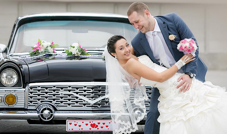 Coches de boda para una entrada triunfal - Siéntete Guapa