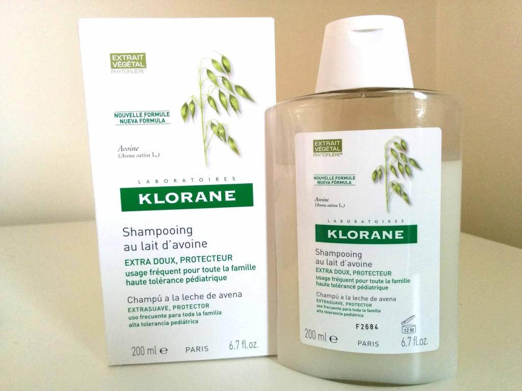Opinión sobre el champú extrasuave a la leche de avena de Klorane - ¡Siéntete Guapa!