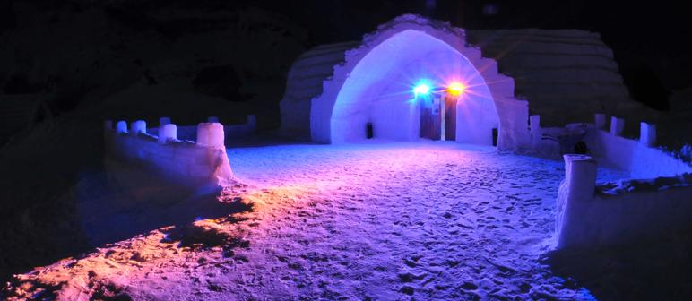 Una boda en un hotel de hielo