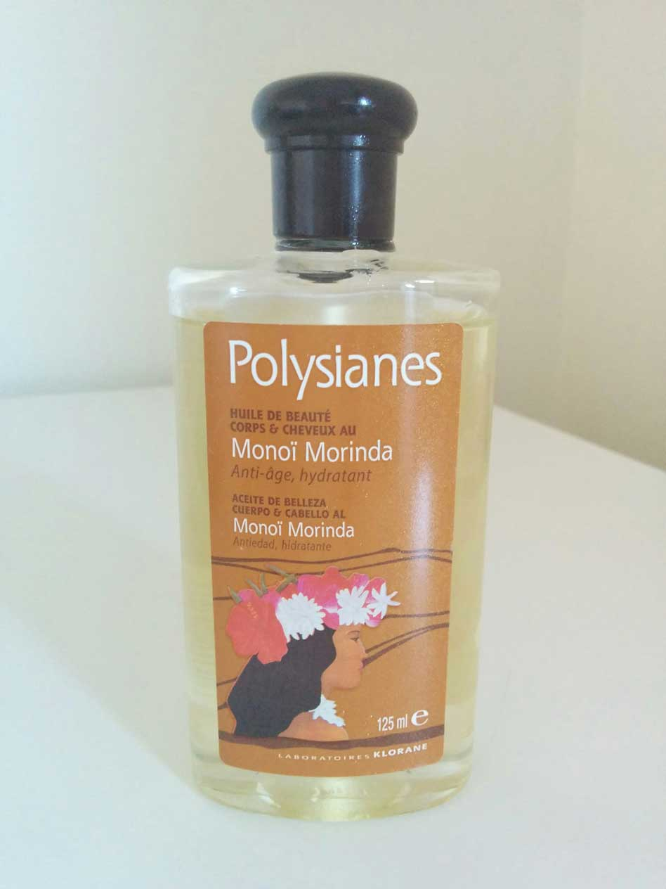 Opinión sobre el Aceite de belleza al Monoï de Klorane