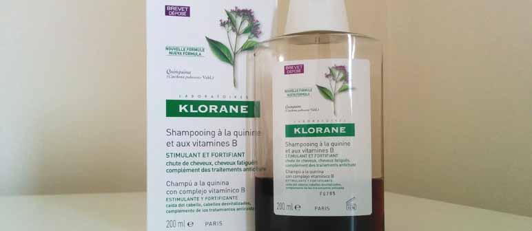 Opinión sobre el Champú a la quinina de Klorane - ¡Siéntete Guapa!