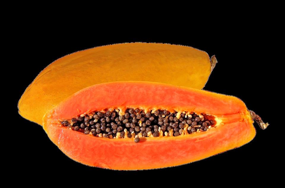 Cabello más fuerte con papaya