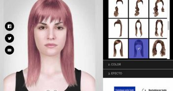 Style My Hair, una herramienta de cambio de look on-line