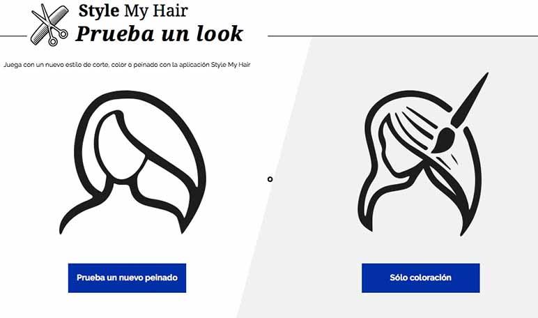 Style My Hair, una herramienta de cambio de look on-line