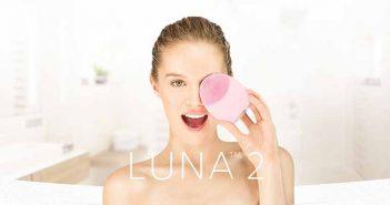 Presume de una piel radiante con el cepillo facial LUNA 2