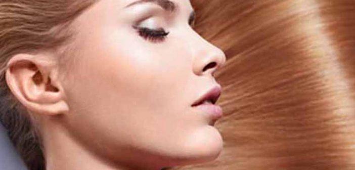 Brillo de seda para un cabello muy suave
