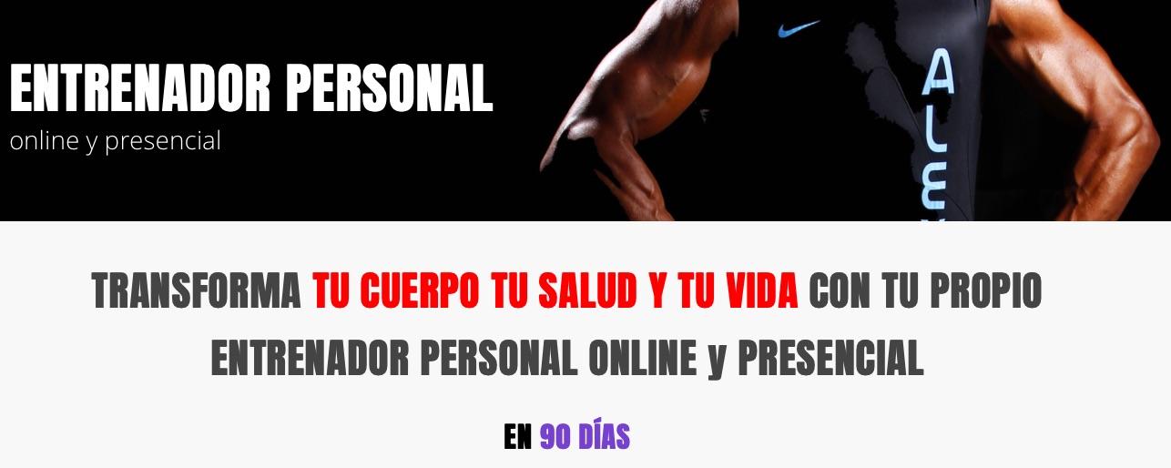 El entrenador personal Alex Giménez te ayuda a tener un cuerpo perfecto