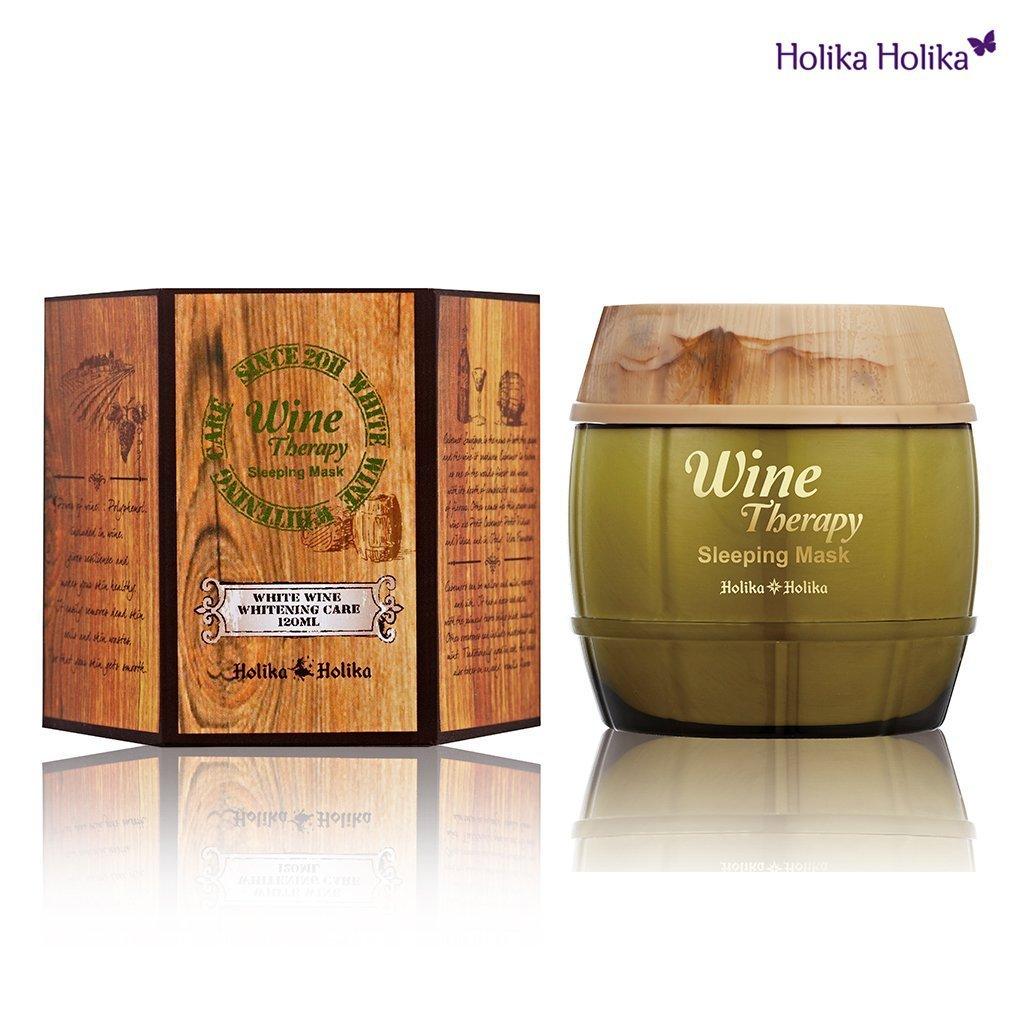 Sleeping mask Wine Therapy de Holika Holika